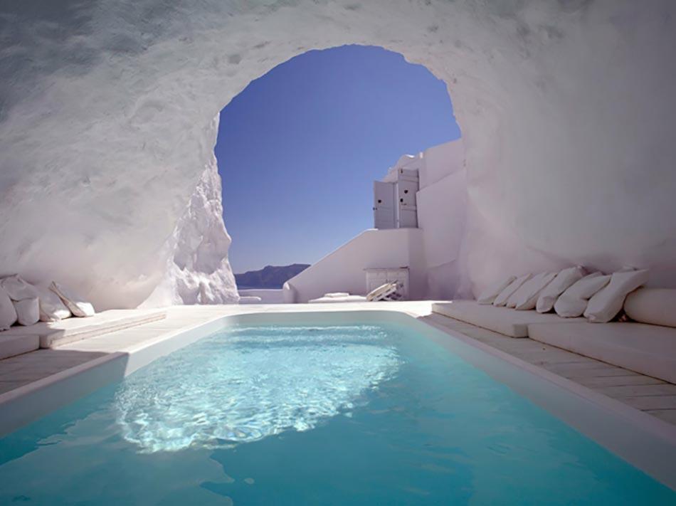 Merveilleux Katikiies Hôtel, Santorini, Grèce