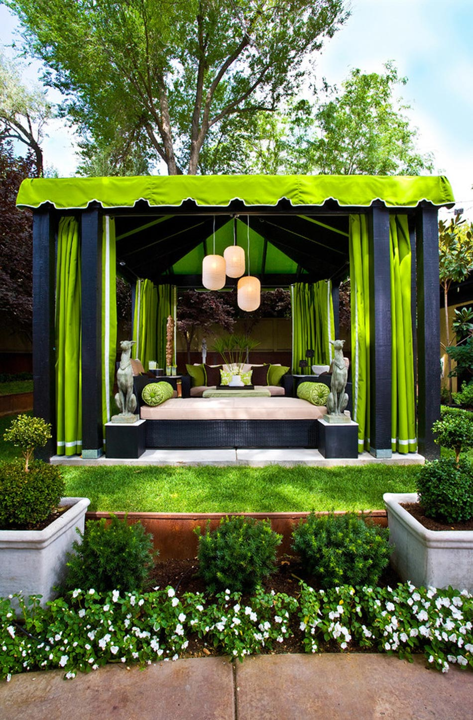 D co d int rieur ou lorsque le citron vert s invite la for Decoration mur exterieur maison