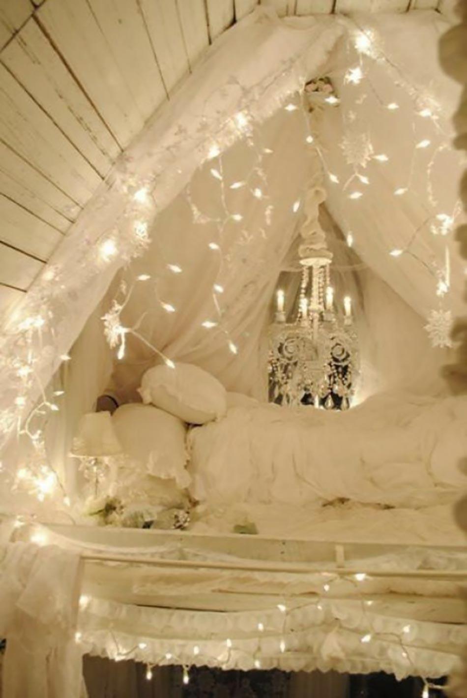 Int ressante d coration de no l pour une chambre sympa for Deco maison de noel