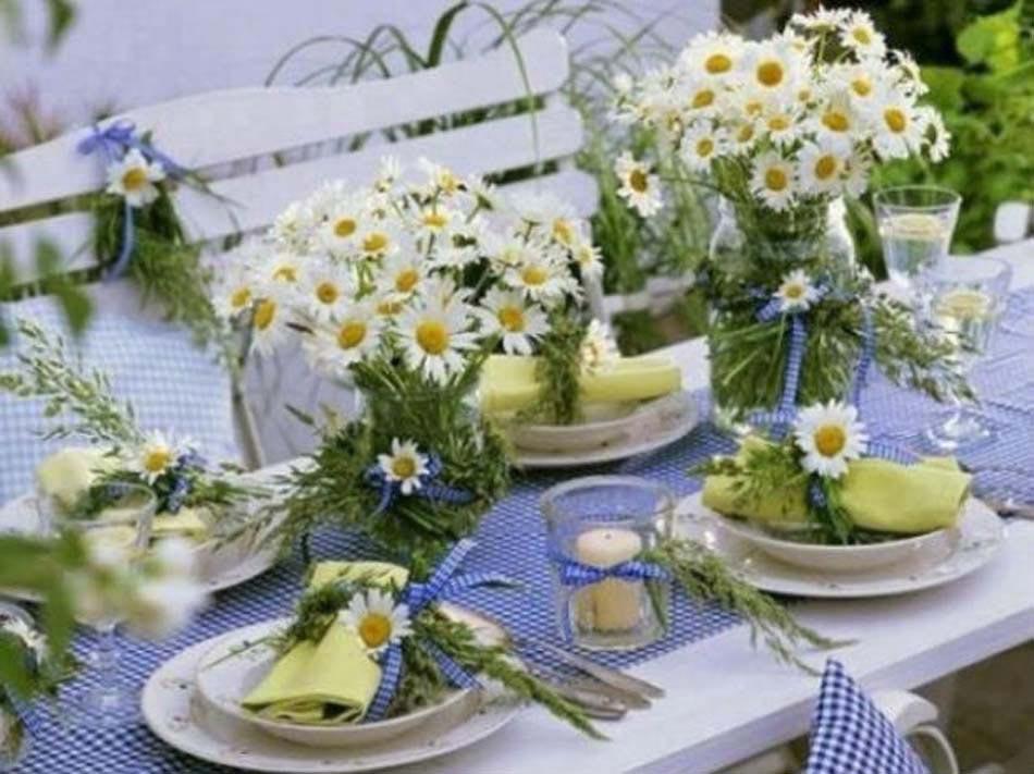 Decoration Table Pour Invites #6: Déco Table Dans Lu0027esprit Campagnard Et Rustique Inspirée Des Temps Jadis