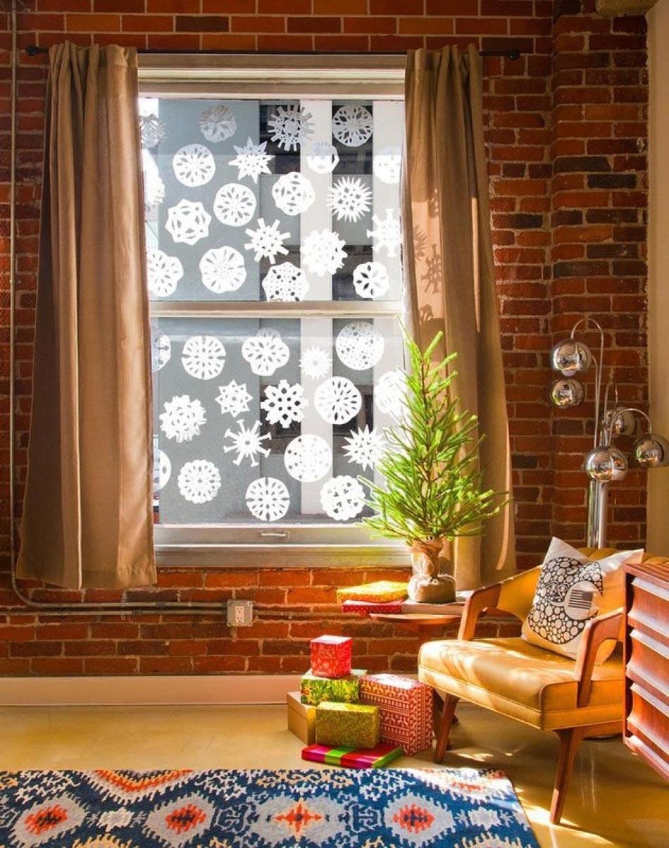 Différents Objets Déco De Noël Pour Fenêtre Une Véritable Source D