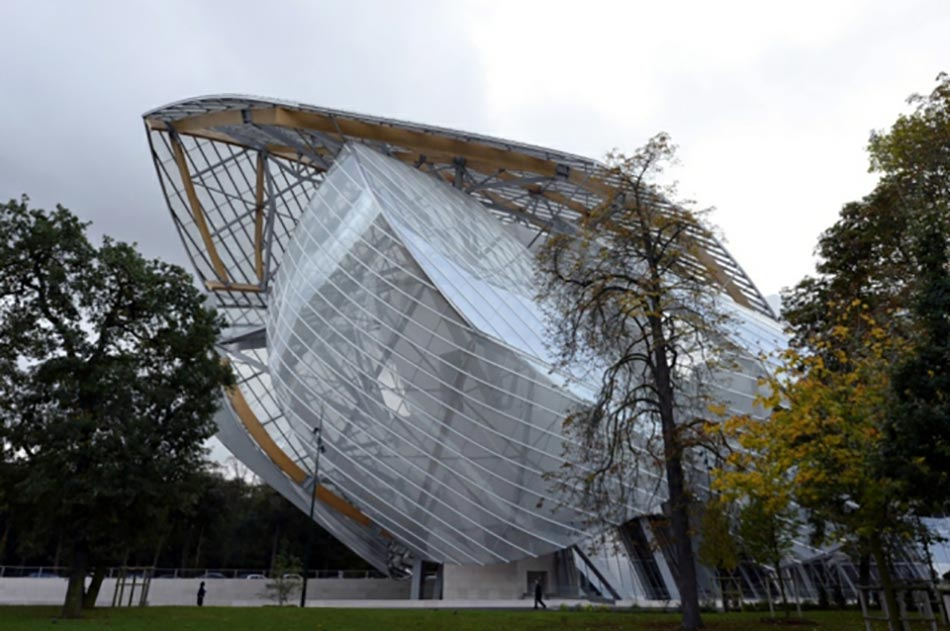 Bâtiment Fondation Louis Vuitton inauguration