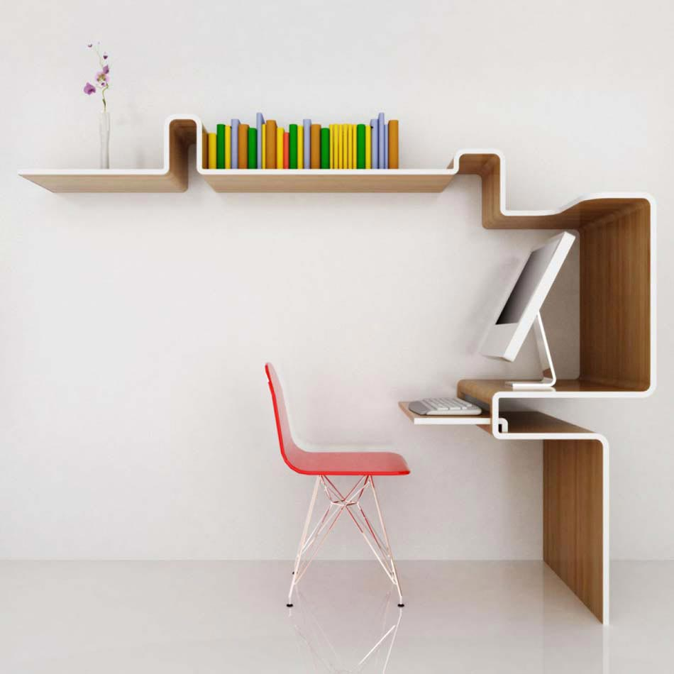 L tag re design un meuble original cr ant une ambiance - Meuble etagere design ...