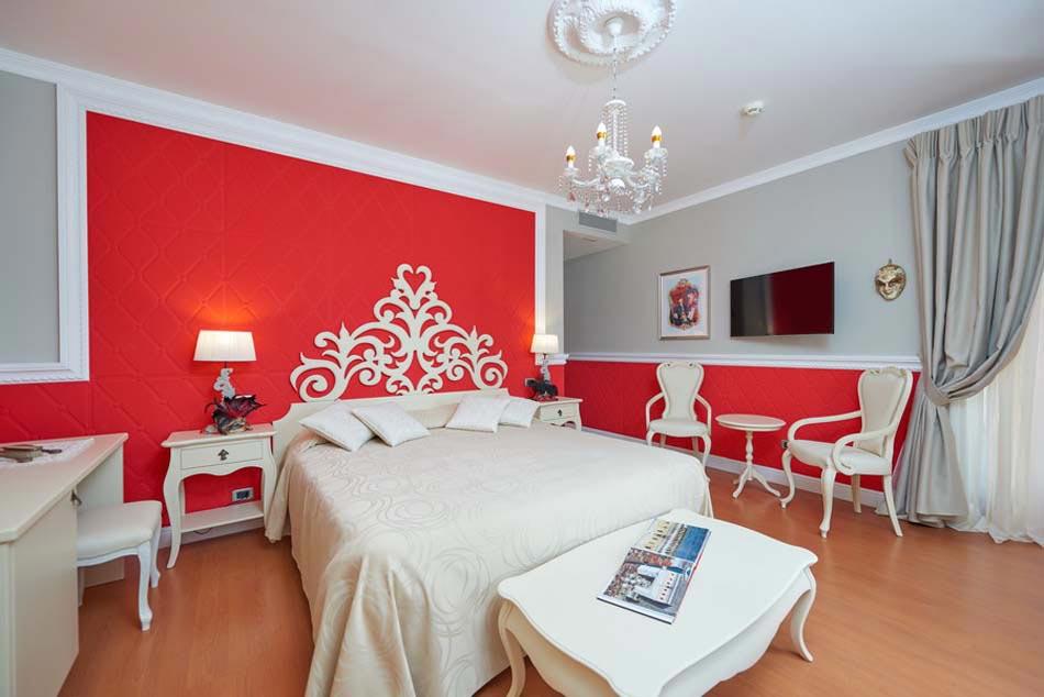 Chambre De Luxe L Esprit Cr Atif Par Belfiore Park Hotel Italie Design Feria