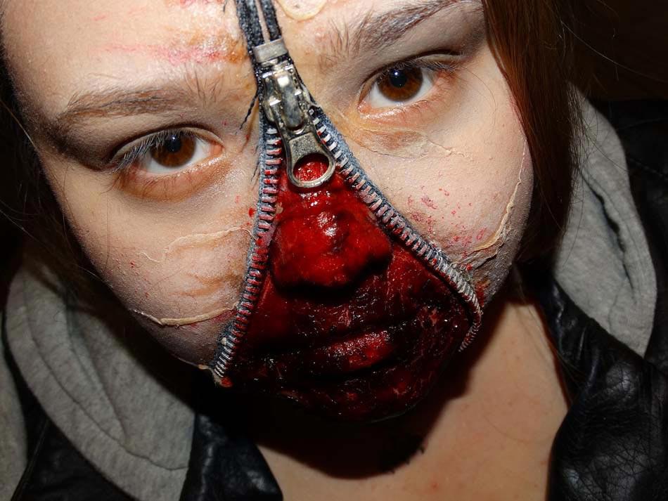 15 Id Es De Maquillage Halloween Myst Re Horreur Ou Gore Design Feria
