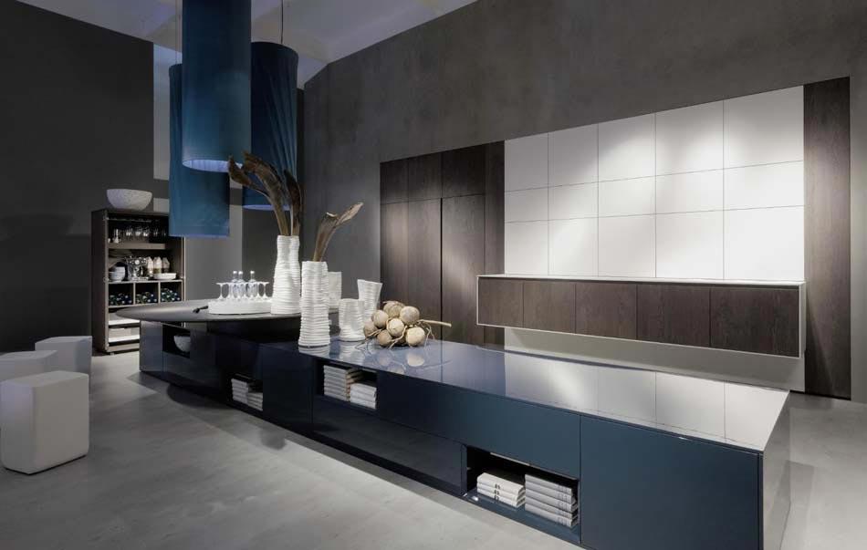 Une cuisine design futuriste vue par les yeux des for Cuisine luxe moderne