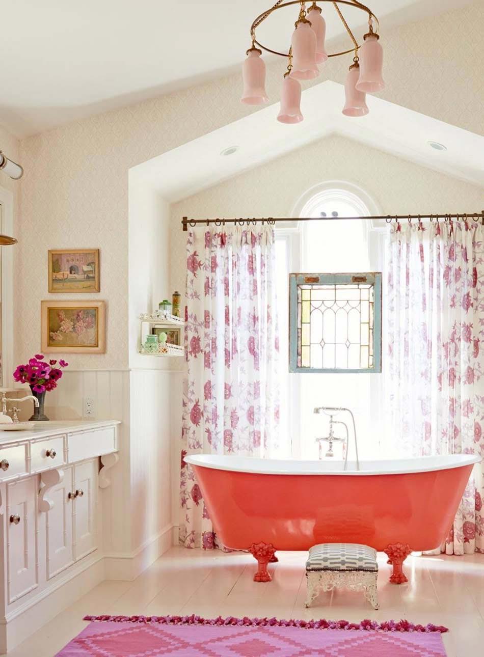 Baignoire de couleur pour relooker et embellir votre salle - Couleur pour une salle de bain ...