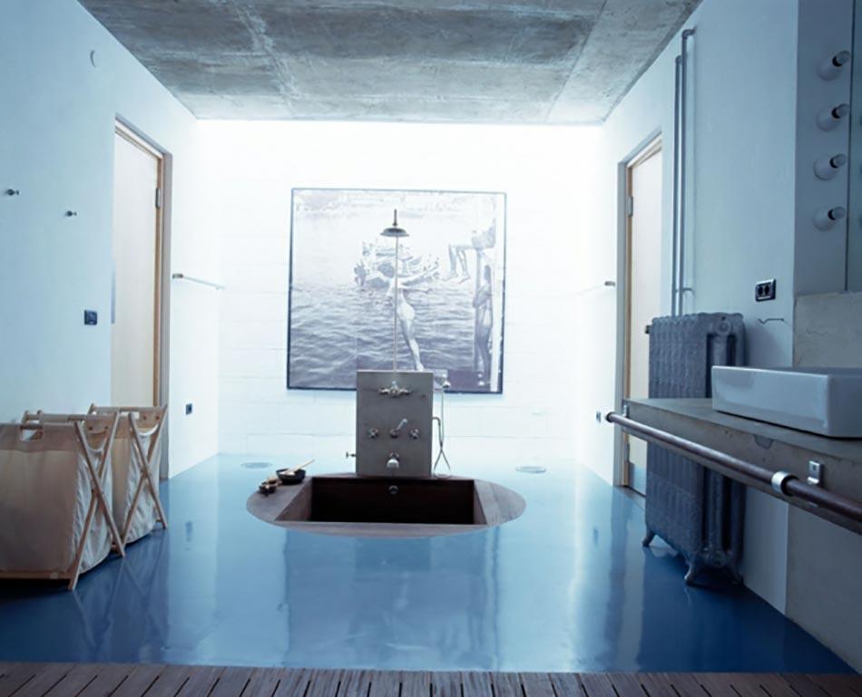 bains turques lorigine de cette salle de bain moderne - Salle De Bain Moderne De Luxe