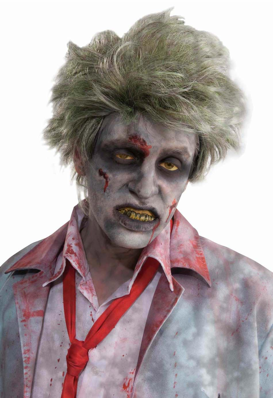 Maquillage homme halloween 16 id es pour r ussir une - Maquillage zombie homme ...
