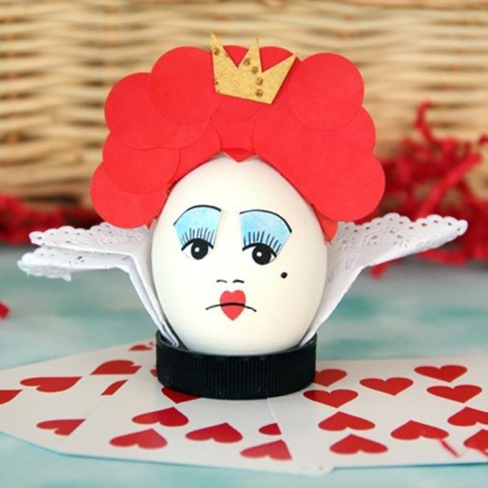 Alice Au Pays Des Merveilles U2013inspiration Déco œufs De Pâques
