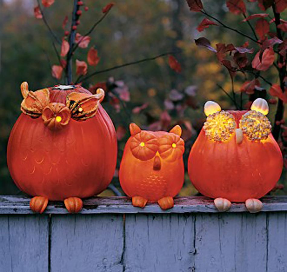D coration halloween originale et cr ative design feria - Decoration de citrouille originale ...