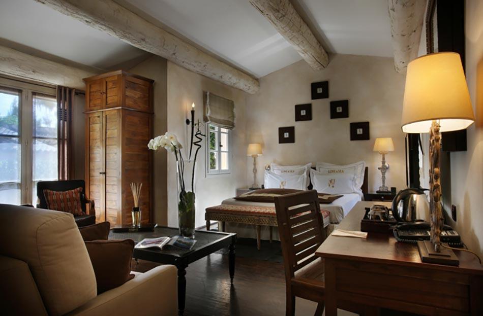La tartane saint amour ou une escapade dans un h tel de for Hotel luxe design