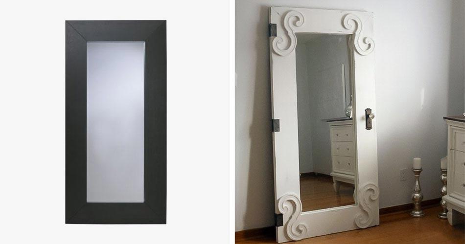 15 id es pour customiser un meuble ikea avec un r sultat - Customiser un miroir ancien ...