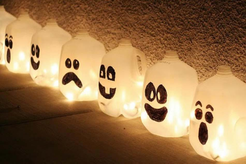 17 id es de d co halloween faisant revivre les fant mes du for Deco maison halloween