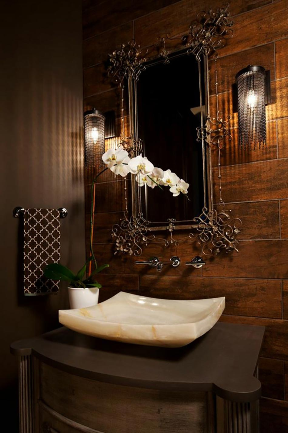 Plante Pour Salle De Bain Sombre des teintes sombres pour une salle de bain moderne | design