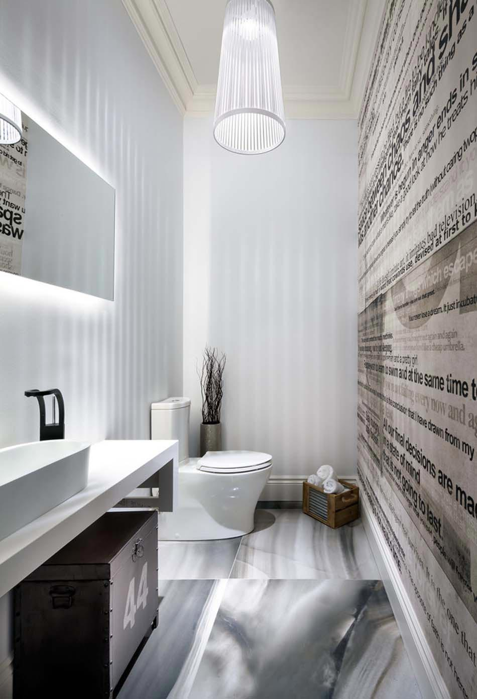 Id es de d coration inspirantes pour rendre nos toilettes for Decoration des toilettes design