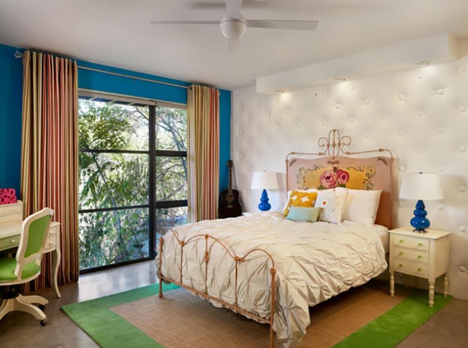 Idées déco intéressantes pour une chambre pleine de couleurs ...