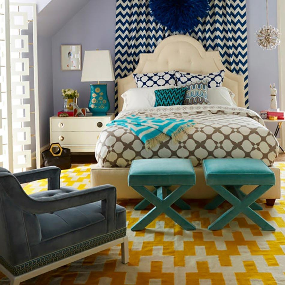 Id es d co int ressantes pour une chambre pleine de - Idees couleurs chambre ...