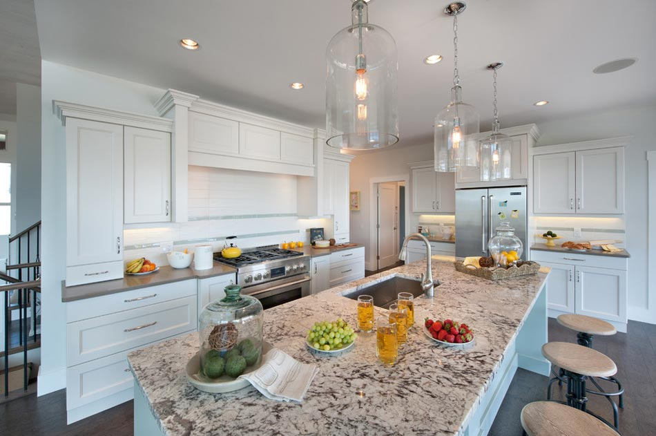 grande cuisine design cuisine avec grand ilot de fonction. Black Bedroom Furniture Sets. Home Design Ideas