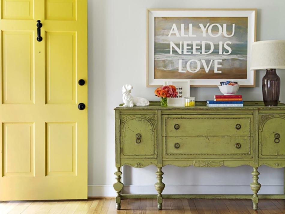 Le jaune pour une d coration int rieure joyeuse design feria Magazine decoration interieure