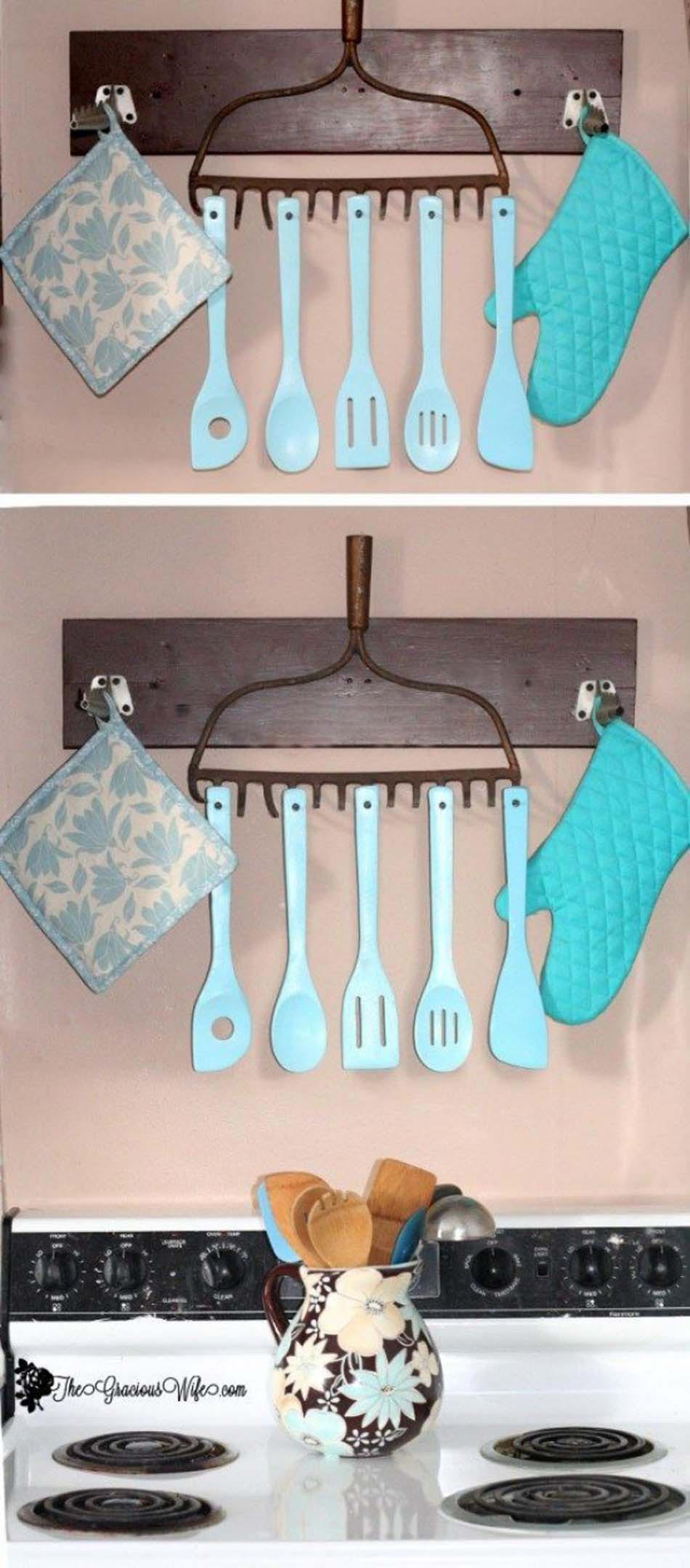 r 233 cup d 233 co avec 12 id 233 es d objet 224 la reconversion 8 diy kitchen decor ideas do it yourself as expert