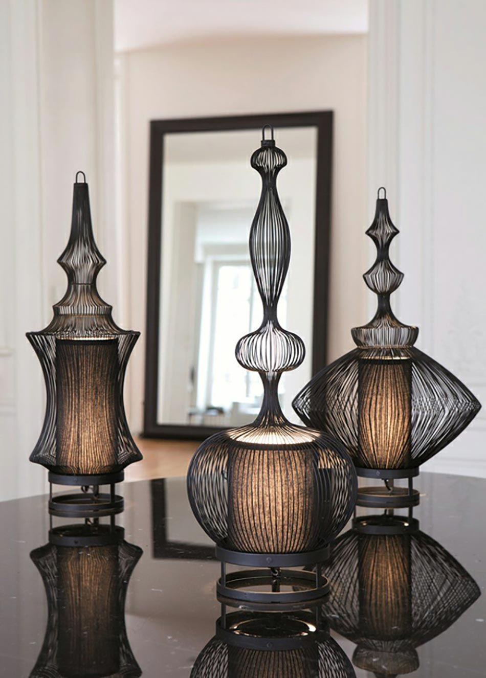 luminaire design en tant qu inspiration de d co artistique design feria. Black Bedroom Furniture Sets. Home Design Ideas