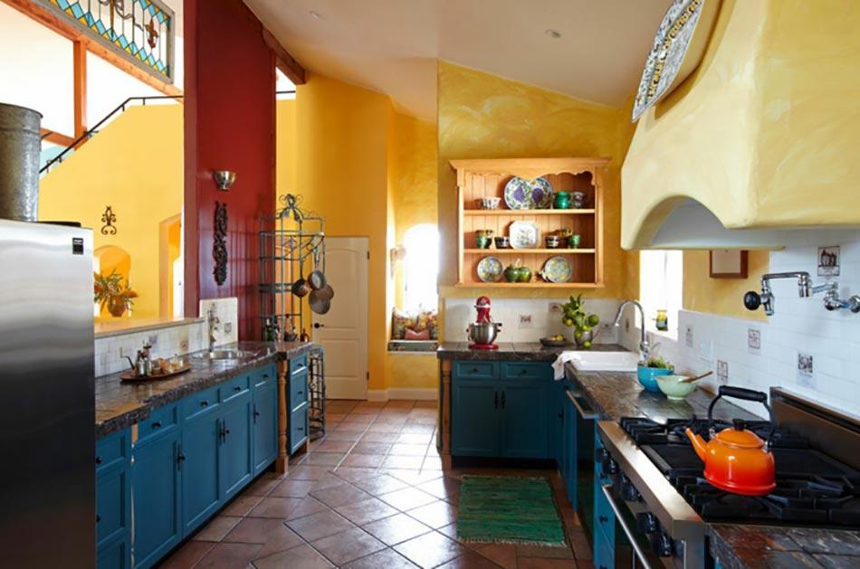 Types de cuisine types de cuisines - Cuisine rustique grise ...