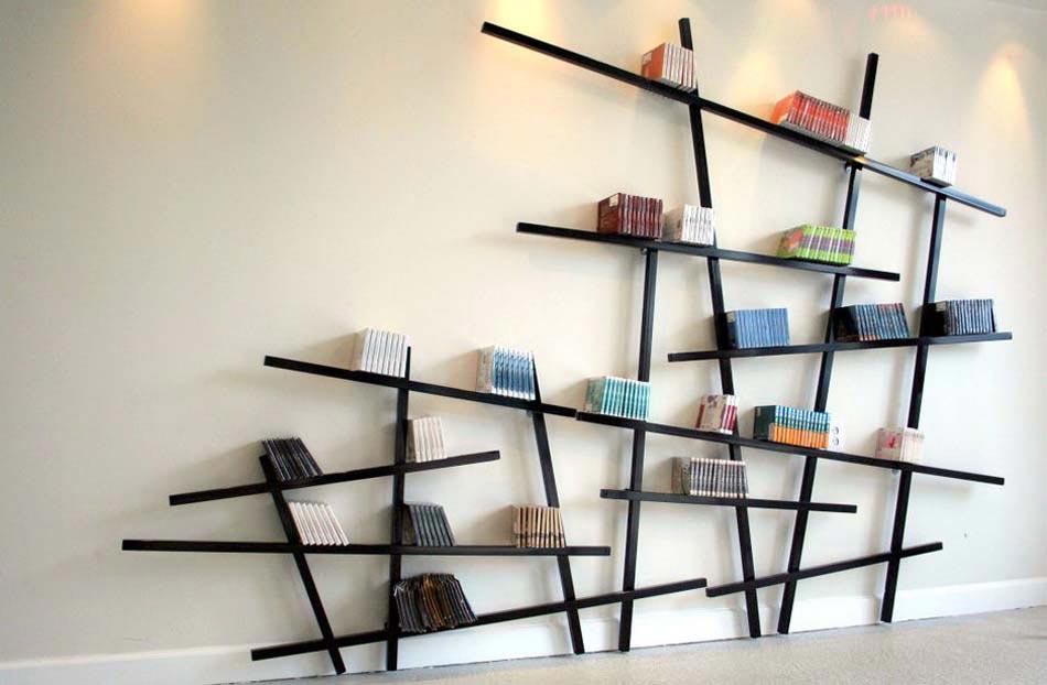 L\'étagère design – un meuble original créant une ambiance sympa à ...