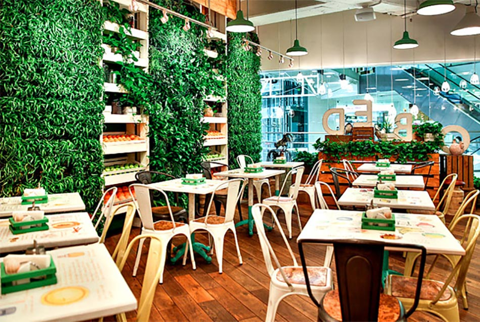 Obed Buffet Un Restaurant Design Inspir 233 Par La Nature