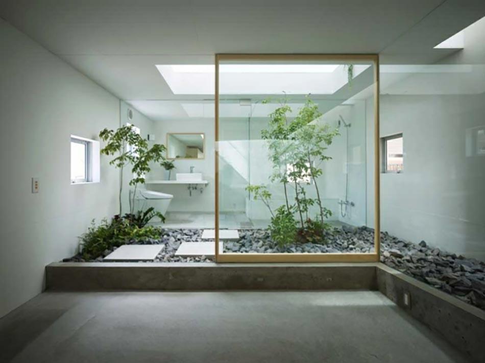 salle de bain de luxe aux inspirations diverses design feria. Black Bedroom Furniture Sets. Home Design Ideas