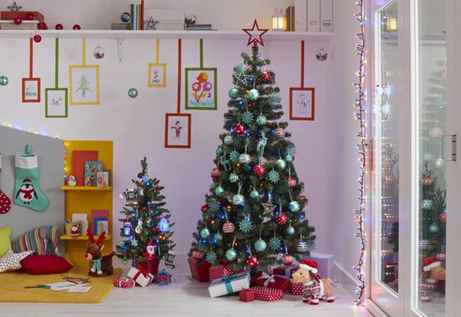Elegant Décorer Pour Noël Chambre Du0027enfant Sapin Maison