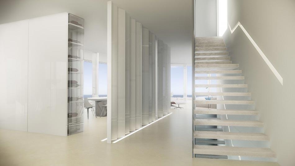 magnifique maison d architecte sur la c te espagnole. Black Bedroom Furniture Sets. Home Design Ideas