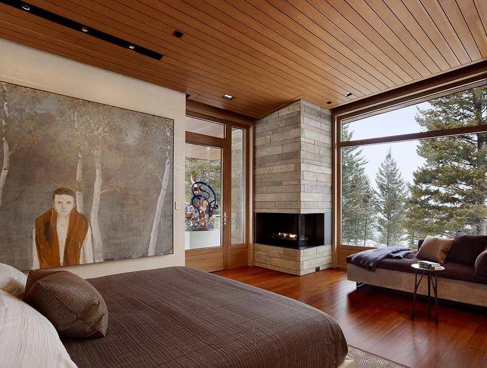 Genial Influence Zen U0026 Déco Chambre En Tout Simplicité Où Le Bois Massif Est  Omniprésent. Idée Déco Chambre à Coucher Design Homme Masculin
