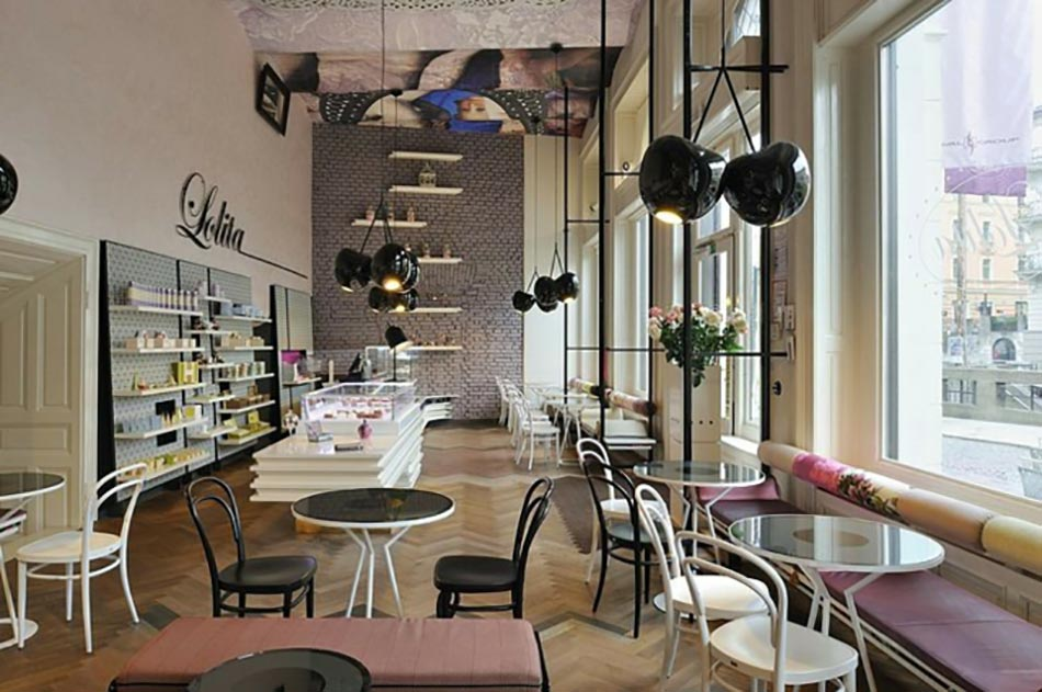 Coffee Shop Tr 232 S Design Dans La Capitale Slov 232 Ne Design