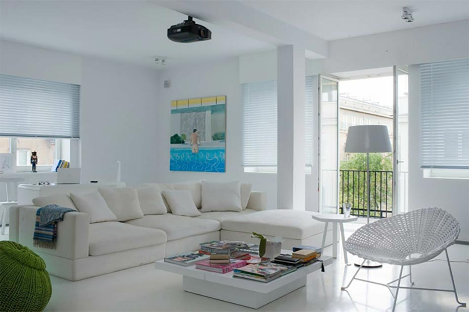 Bel appartement moderne au design int rieur tr s cr atif for Deco interieur appartement moderne