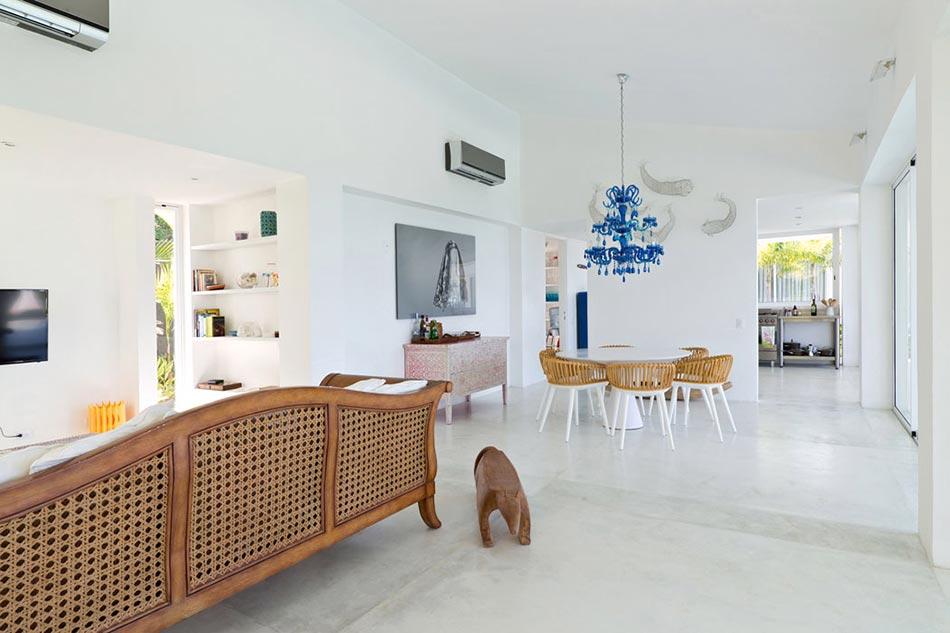 Design Et Décoration élégants De Style Minimaliste Voire épuré De La Villa