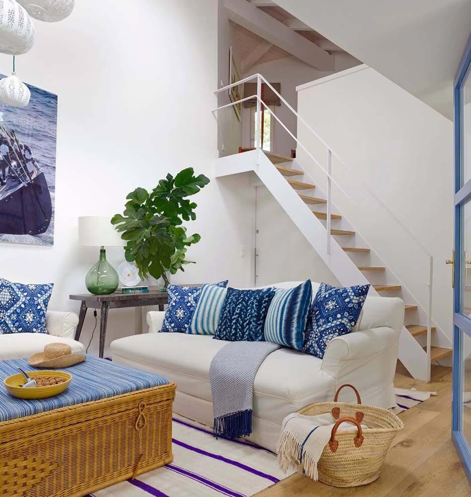 Belle maison de vacances la d coration inspir e par la for Les meilleurs decoration des maisons