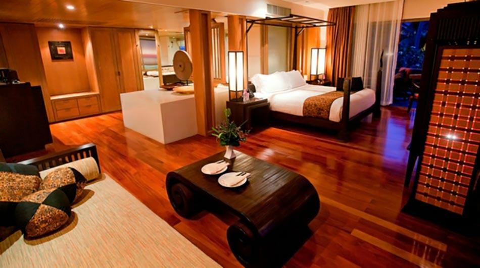 Chambre En Bois Exotique : Vacances exotiques à Koh Samui à Anantara ...