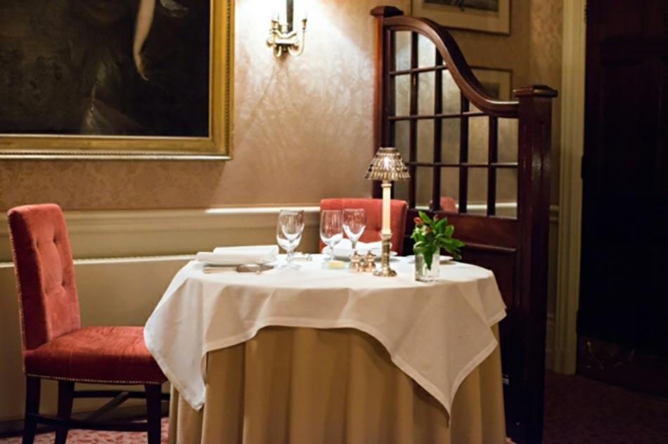 Le Restaurant étoilé De Hombleton Hall. Hôtel Classe Hambleton Hall