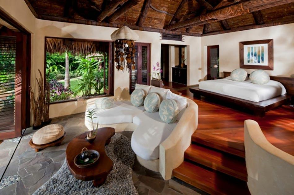 Incroyable Suite De Prestige Pour Deux à Laucala Complexe Hôtelier. Bois Exotique  Destination De Reve Fidji