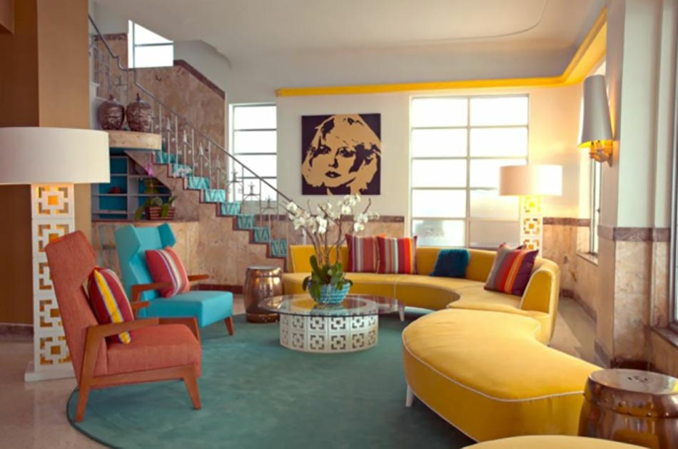 decoration interieur annee 70