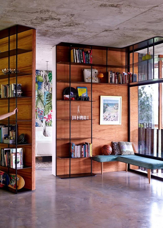 Mobilier En Bois Massif Pour Une Maison Passive Et écologique Moderne.  Mobilier Mobile Design Original