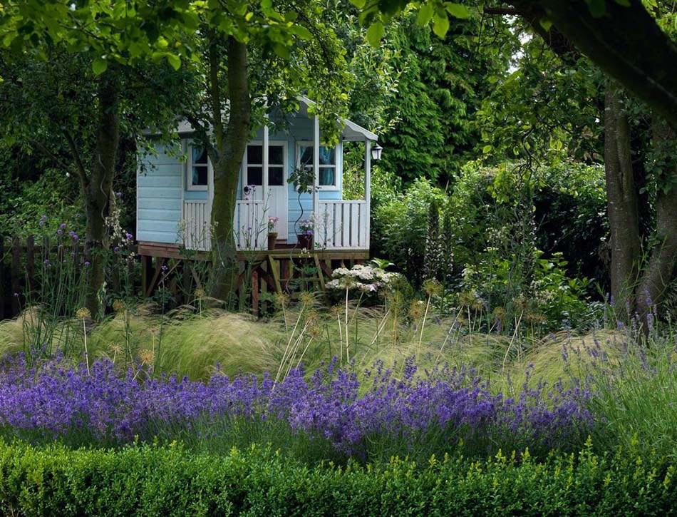 ... une ambiance de jardin agréable et unique en plein air  Design Feria
