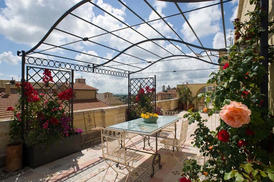 am nagement terrasse coquet pour une ambiance conviviale et agr able design feria. Black Bedroom Furniture Sets. Home Design Ideas
