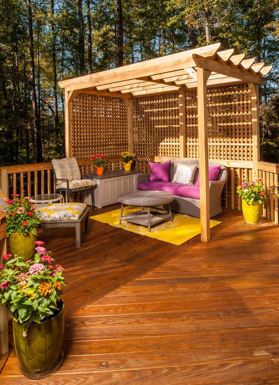 Terrasses Couvertes Pergola Design Offrant Des Espaces Agreables