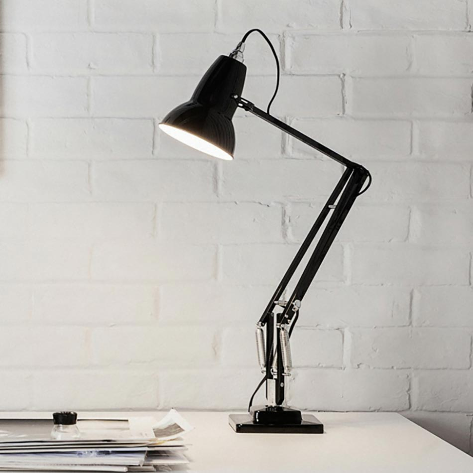 Charmant Anglepoise Lampe De Bureau 1227 Noir