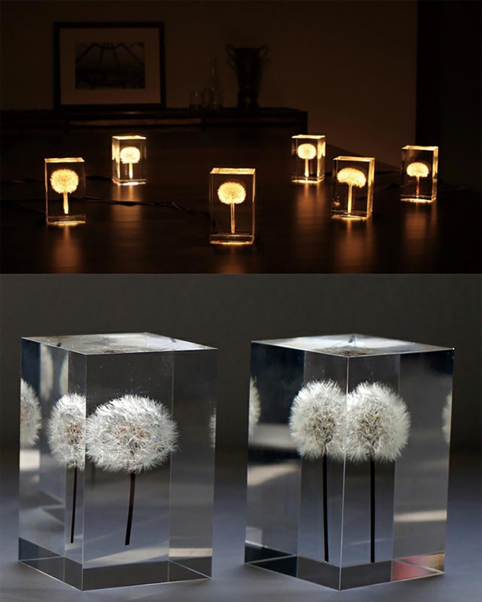 Incroyable Lampes à Poser Renfermant Un Pisse En Lit Lumineux