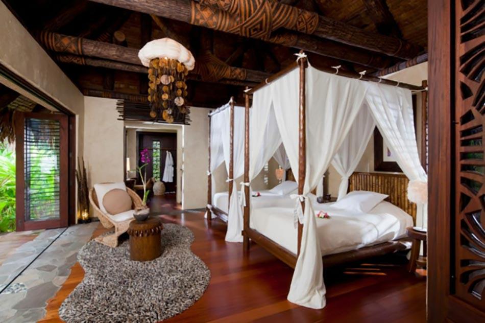 Lit Baldaquin Bois Exotique : Lits baldaquins pour des vacances de luxe inoubliables