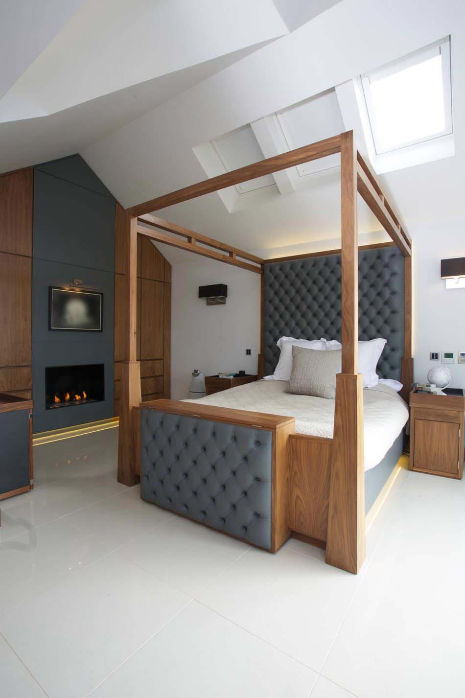 d co chambre coucher au design cr atif l gant et. Black Bedroom Furniture Sets. Home Design Ideas