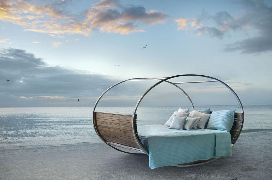 Transformer les espaces extérieurs grâce à un lit de jardin design ...